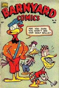 Cover Thumbnail for Barnyard Comics (Pines, 1944 series) #24