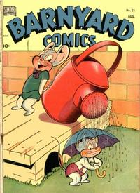 Cover Thumbnail for Barnyard Comics (Pines, 1944 series) #25