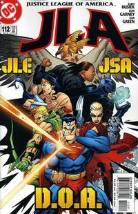 Cover Thumbnail for JLA (DC, 1997 series) #112 [Direct Sales]
