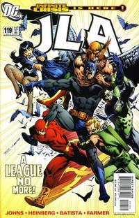 Cover Thumbnail for JLA (DC, 1997 series) #119 [Direct]
