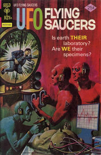 Cover Thumbnail for UFO Flying Saucers (Western, 1968 series) #9 [Gold Key]