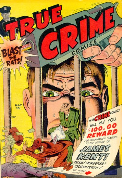 Cover for True Crime Comics (Magazine Village, 1947 series) #v1#2