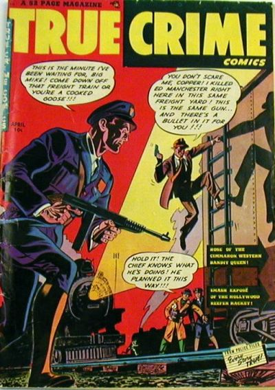 Cover for True Crime Comics (Magazine Village, 1947 series) #v1#5