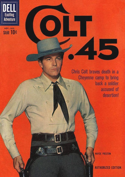 Cover for Colt .45 (Dell, 1960 series) #7
