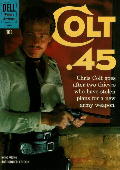 Cover for Colt .45 (Dell, 1960 series) #8