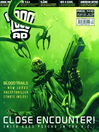 Cover for 2000 AD (Rebellion, 2001 series) #1440
