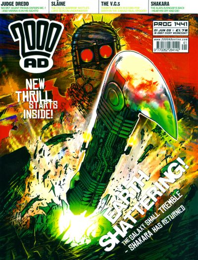 Cover for 2000 AD (Rebellion, 2001 series) #1441