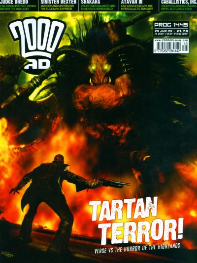 Cover for 2000 AD (Rebellion, 2001 series) #1445