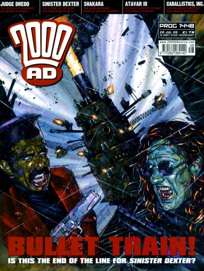 Cover for 2000 AD (Rebellion, 2001 series) #1448