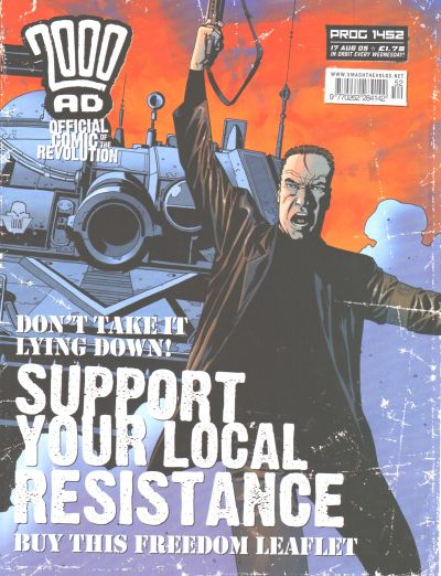 Cover for 2000 AD (Rebellion, 2001 series) #1452