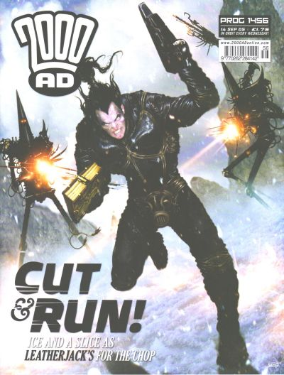 Cover for 2000 AD (Rebellion, 2001 series) #1456