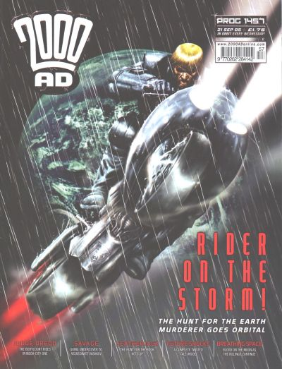 Cover for 2000 AD (Rebellion, 2001 series) #1457