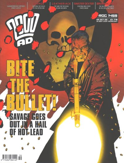 Cover for 2000 AD (Rebellion, 2001 series) #1459
