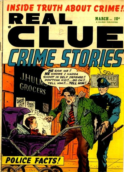 Cover for Real Clue Crime Stories (Hillman, 1947 series) #v6#1 [61]
