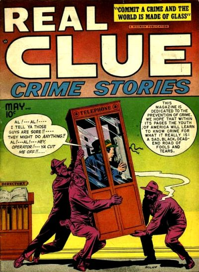 Cover for Real Clue Crime Stories (Hillman, 1947 series) #v3#3 [27]