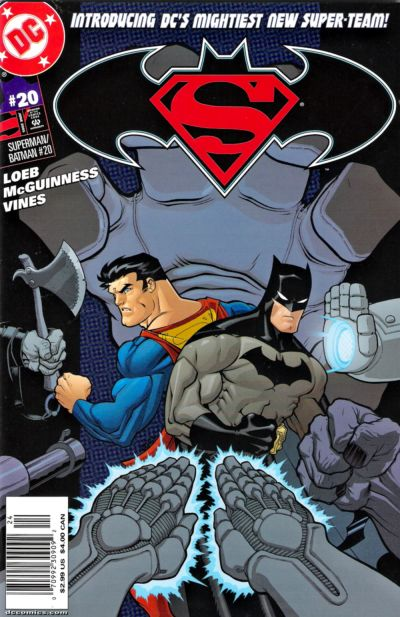 Cover for Superman / Batman (DC, 2003 series) #20 [Direct Sales]