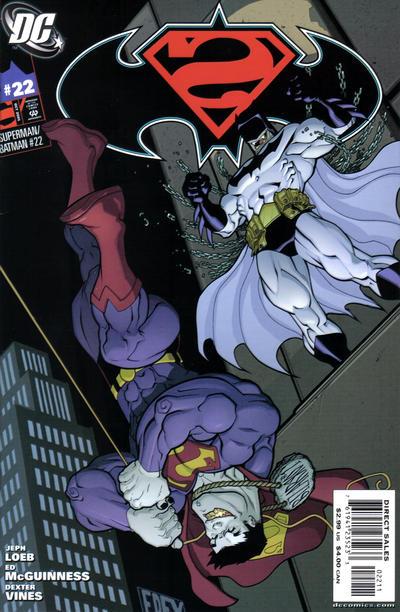 Cover for Superman / Batman (DC, 2003 series) #22