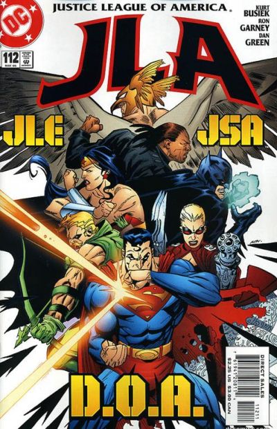 Cover for JLA (DC, 1997 series) #112