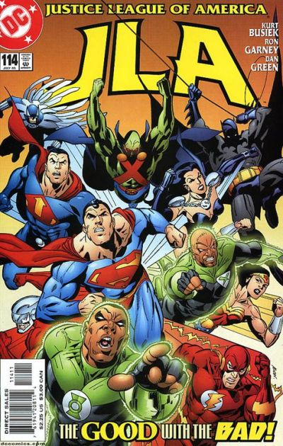 Cover for JLA (DC, 1997 series) #114