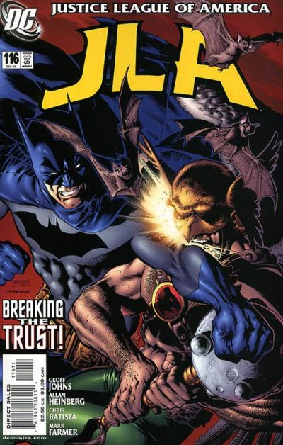 Cover for JLA (DC, 1997 series) #116