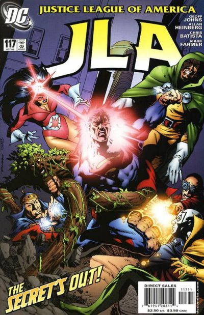 Cover for JLA (DC, 1997 series) #117