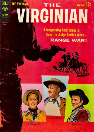 Cover for The Virginian (Western, 1963 series) #1