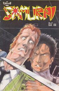 Cover Thumbnail for Samurai (Aircel Publishing, 1985 series) #14