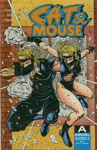 Cover Thumbnail for Cat & Mouse (Malibu, 1990 series) #2