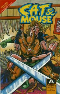 Cover Thumbnail for Cat & Mouse (Malibu, 1990 series) #3