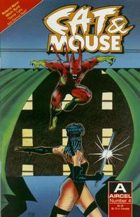 Cover Thumbnail for Cat & Mouse (Malibu, 1990 series) #4