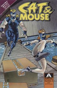Cover Thumbnail for Cat & Mouse (Malibu, 1990 series) #8