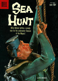 Cover Thumbnail for Sea Hunt (Dell, 1960 series) #6