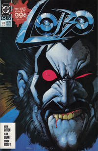 Cover Thumbnail for Lobo (DC, 1990 series) #1 [Direct]