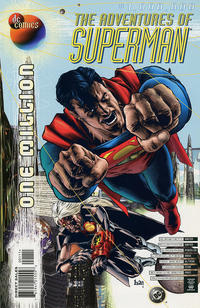 Cover Thumbnail for Adventures of Superman (DC, 1987 series) #1,000,000 [Direct Sales]