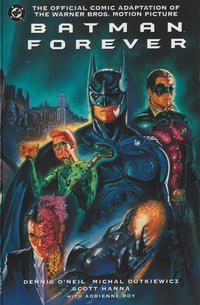 Cover Thumbnail for Batman Forever: The Official Comic Adaptation of the Warner Bros. Motion Picture (DC, 1995 series) #nn [Direct]
