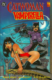 Cover Thumbnail for Catwoman / Vampirella: The Furies (DC; Harris Comics, 1997 series)
