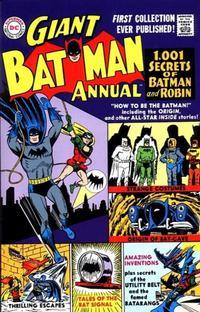 Cover Thumbnail for Giant Batman Annual #1 Replica Edition (DC, 1999 series)