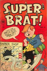 Cover Thumbnail for Super-Brat (Toby, 1954 series) #3
