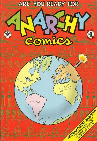 Cover for Anarchy Comics (Last Gasp, 1978 series) #1 [2nd printing]