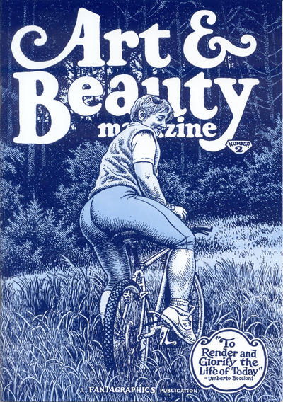 Cover for Art & Beauty Magazine (Fantagraphics, 1996 series) #2