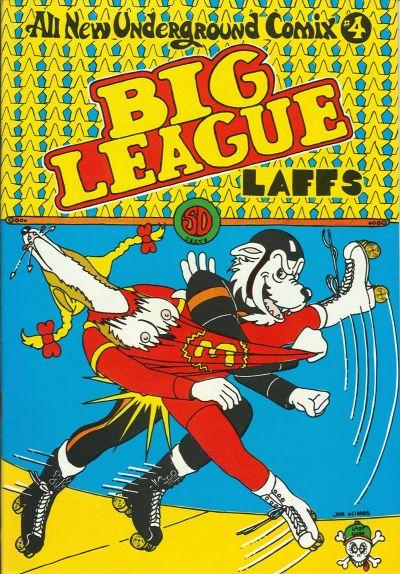 Cover for Big League Laffs (Last Gasp, 1973 series) #[nn]