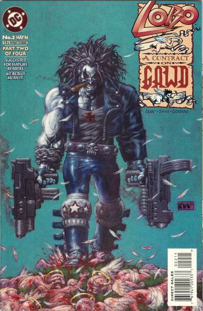 Cover for Lobo: A Contract on Gawd (DC, 1994 series) #2
