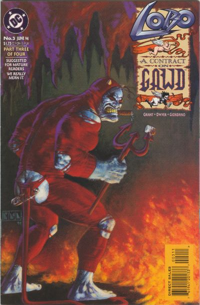 Cover for Lobo: A Contract on Gawd (DC, 1994 series) #3