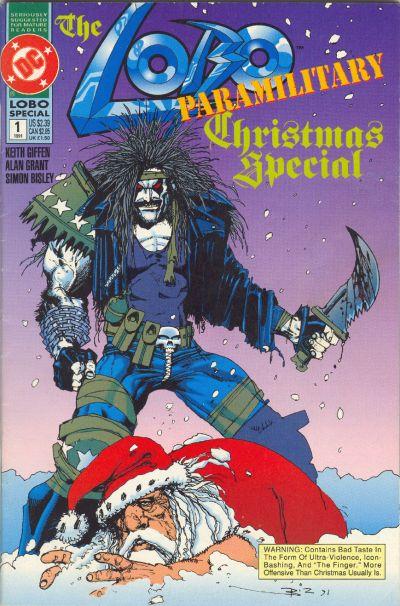 Cover for Lobo Paramilitary Christmas Special (DC, 1991 series) #1
