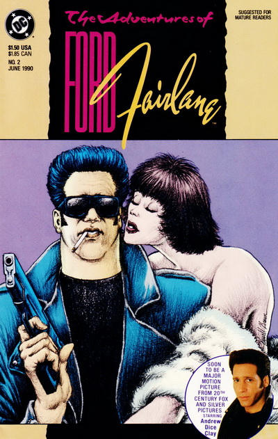 Cover for Adventures of Ford Fairlane (DC, 1990 series) #2