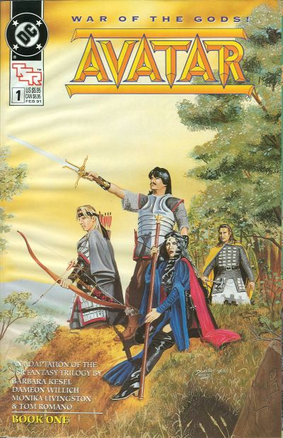 Cover for Avatar (DC, 1991 series) #1
