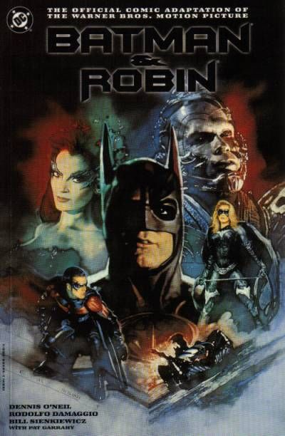 Cover for Batman and Robin: The Official Comic Adaptation of the Warner Bros. Motion Picture (DC, 1997 series) #[Collector's Edition]