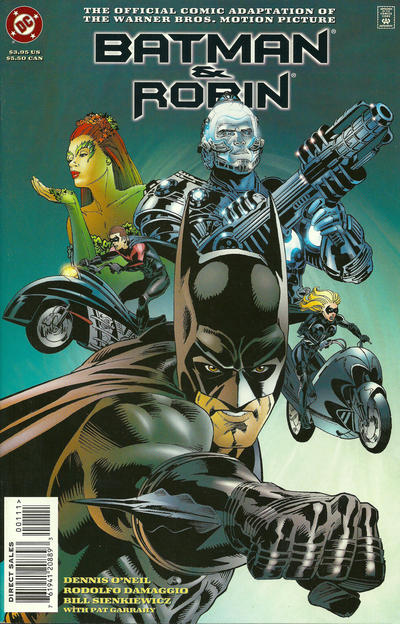 Cover for Batman and Robin: The Official Comic Adaptation of the Warner Bros. Motion Picture (DC, 1997 series) #[Standard Edition]