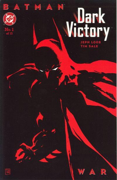 Cover for Batman: Dark Victory (DC, 1999 series) #1