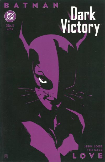 Cover for Batman: Dark Victory (DC, 1999 series) #5